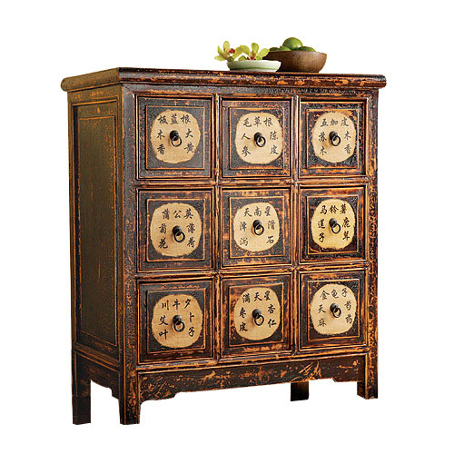 Analyze this vintage vintage vintage for Oriental furniture