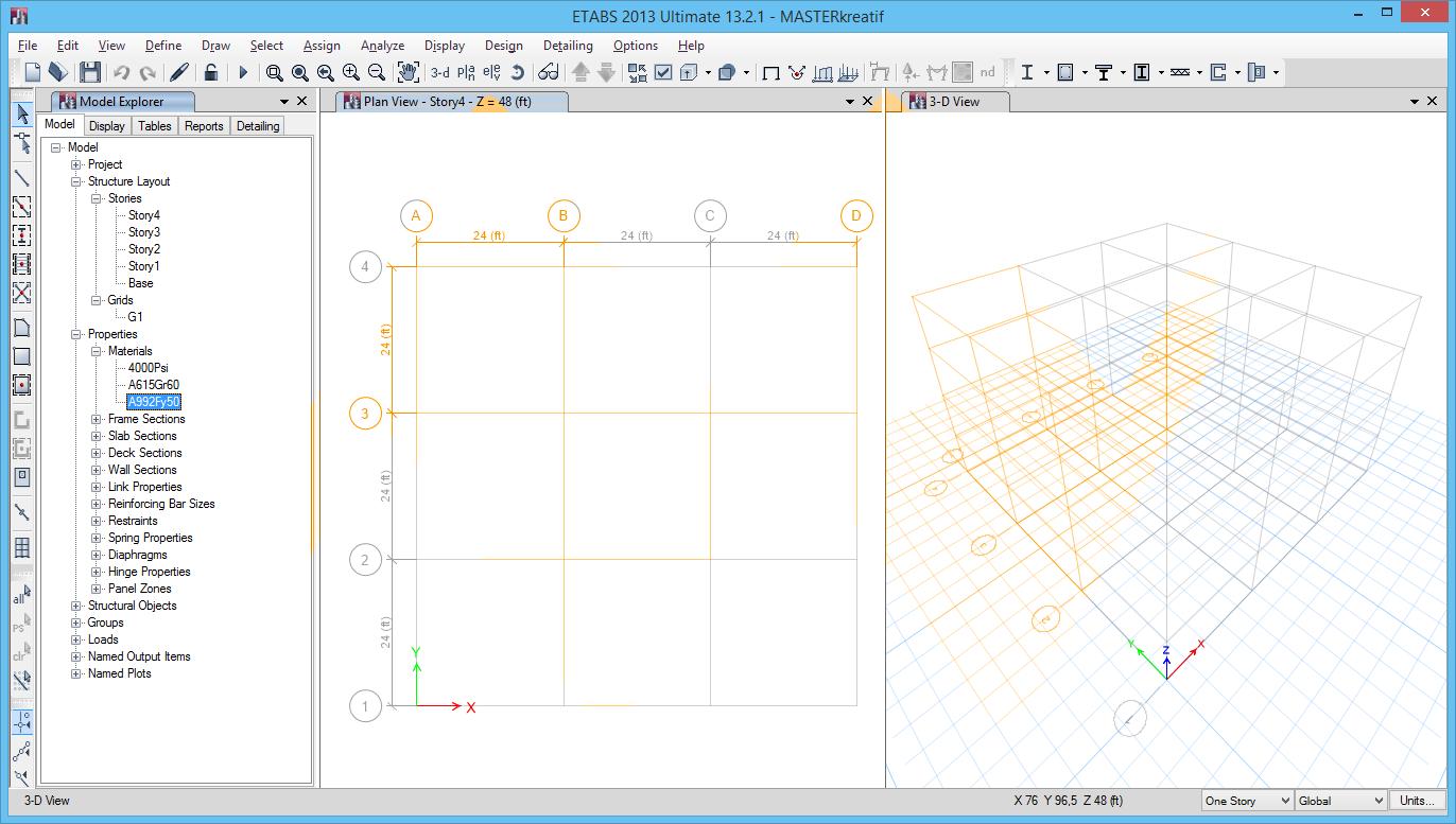 ETABS 2013 Ultimate v13.2.1 Full Keygen