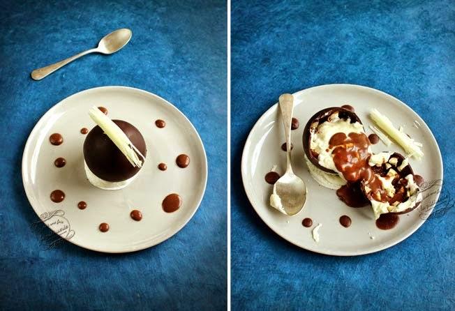 sphère trois chocolat