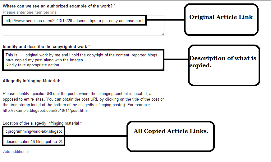 How to Remove duplicate Content from Google