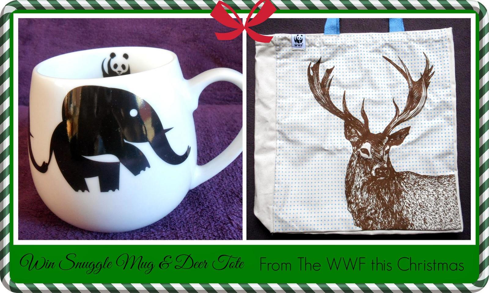 WWF Snuggle Mug & Deer Tote