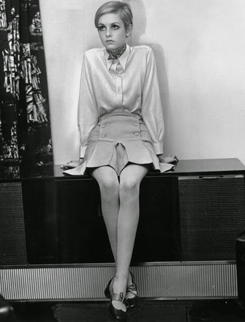 Twiggy, 70s fashion