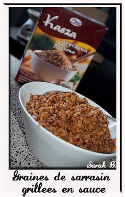 graines de sarrasin grillees recette