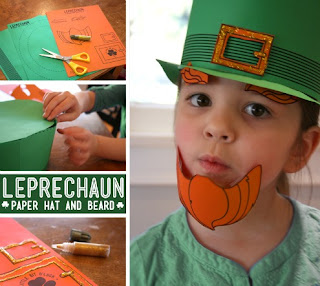 Printable Leprechaun Hat Craft
