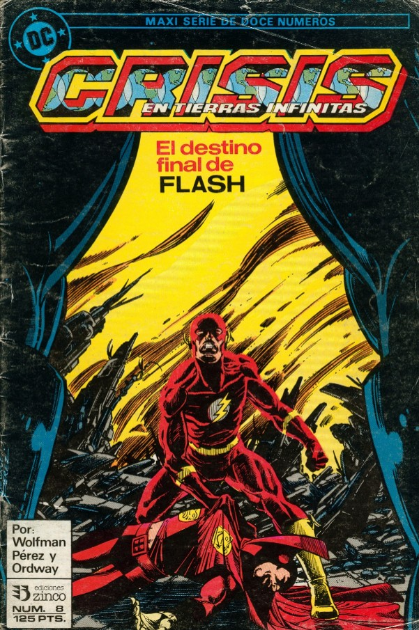 The Flash. Crisis en Tierras infinitas