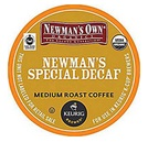 Newman's Own Decaf Special Blend K-Cups_CoffeeCow
