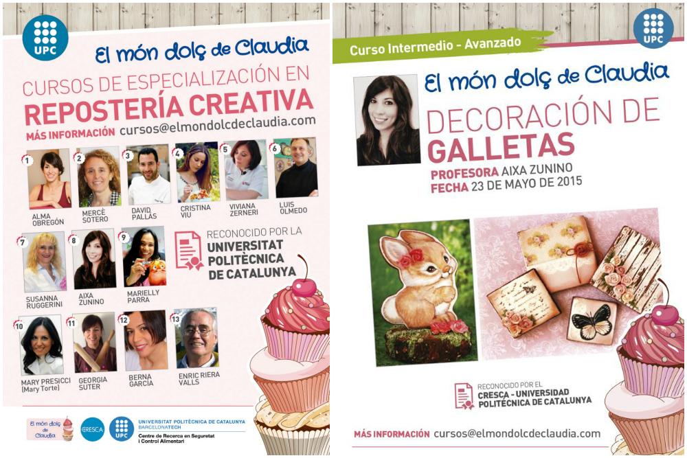 Curso de especialización en repostería creativa Dolce Sentire El Mon dolç de Claudia