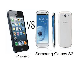 iPhone 5 and Samsung Galaxy S3