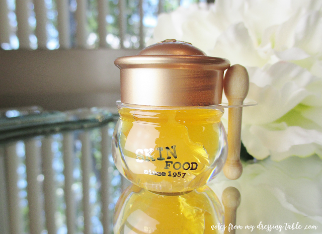 the cutest lip balm ever skin food honey pot lip balm notes from my dressing table