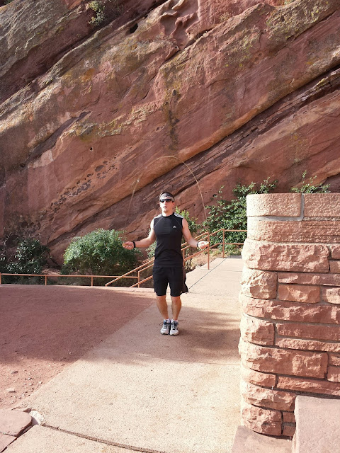 Red Rocks Workout - Jump Rope