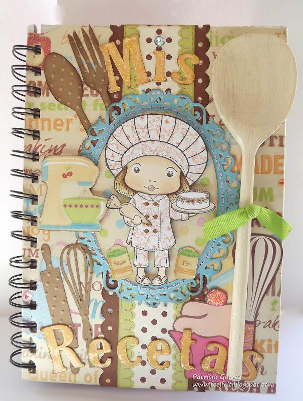 Feel felt recetario chef marci - Libros antiguos para decoracion ...