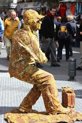 imagen artista callejeros