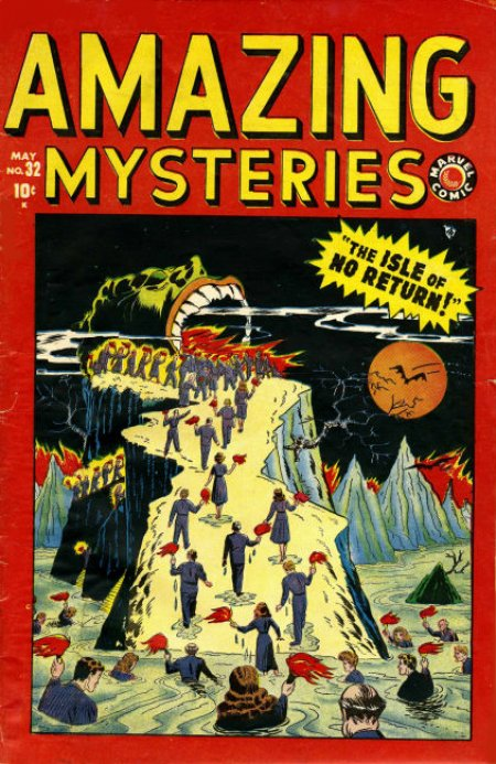 AMAZING MYSTERIES #32