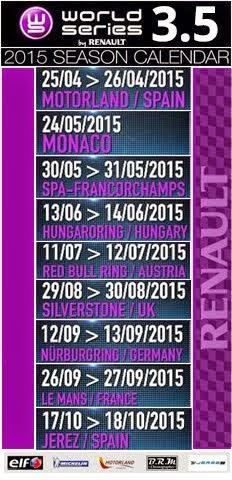 WSBR - Calendário