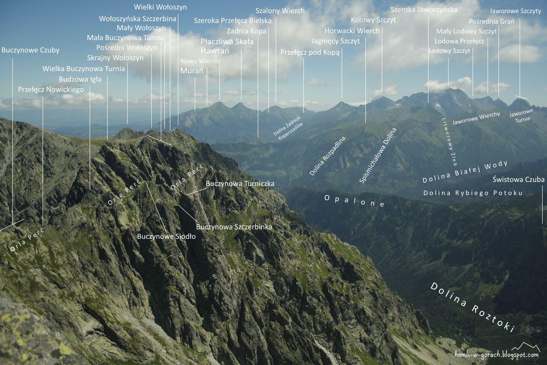 Zadni Granat - panorama