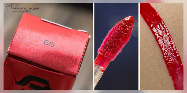 Urban Decay Summer Launches 2015 Revolution High-Color Lipgloss 69 Swatch