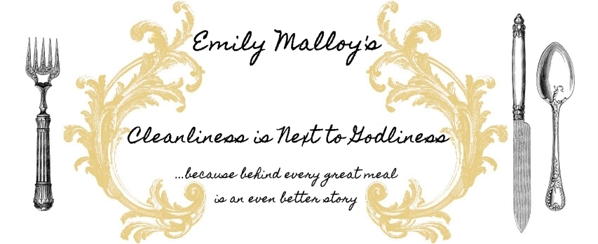 Emily Malloy's Cleanliness is Next to Godliness