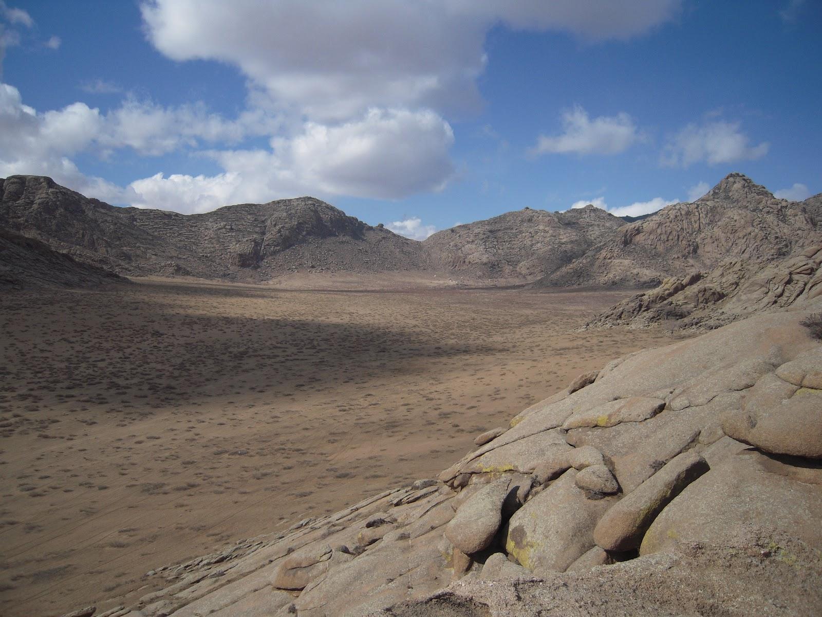 Semi Gobi Desert, Mongolia