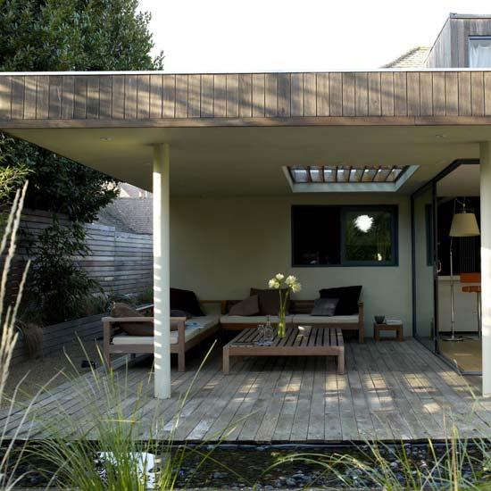 Casas minimalistas y modernas exteriores y jardines for Jardines modernos minimalistas