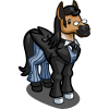 FarmVille Brumby Butler Horse (Bonus Prize)
