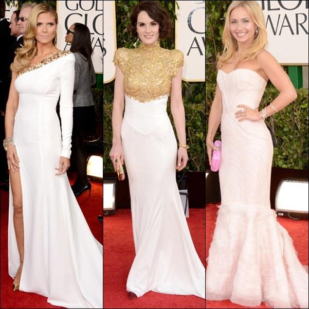 Vestidos blanco famosas