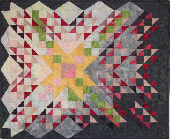 Sew In The Snow Faf Quilt Art By Rhonda