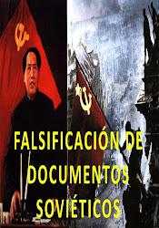 Falsificación de documentos soviéticos