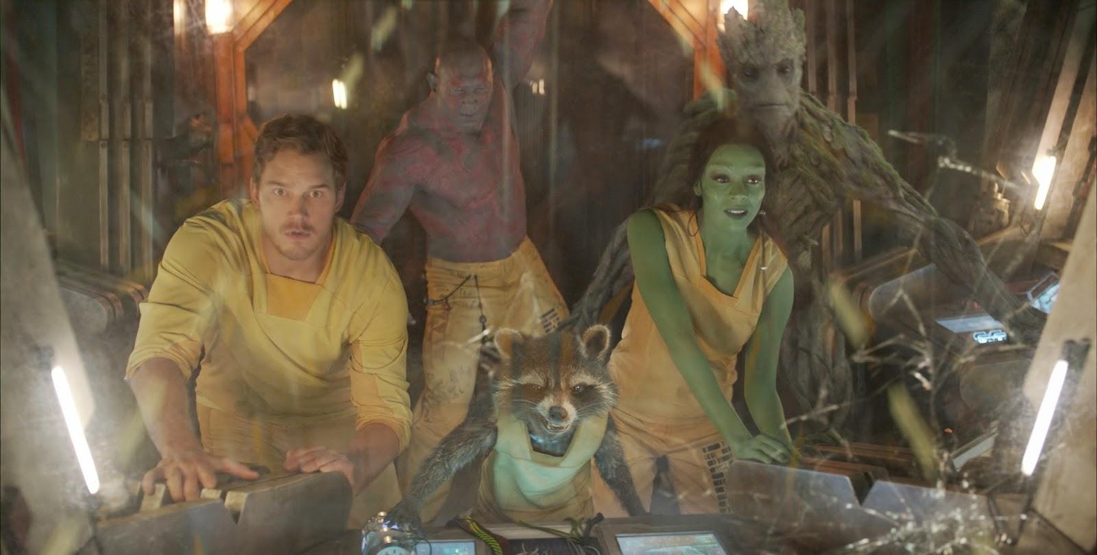 guardianes de la galaxia, subtitulos, china, chino, el zorro con gafas