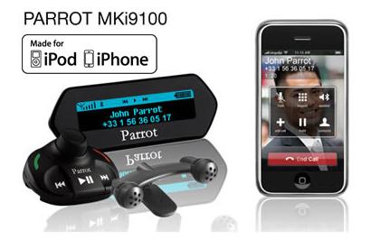 parrot mki systeme audio et kit