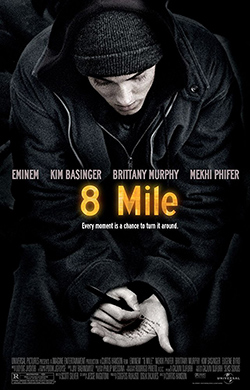 8 Mile 2002 Hindi Dubbed 400MB ENG BluRay 480p