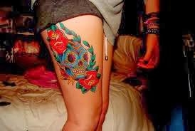 Tatuagem Na Coxa: Galeria Completa Com As Melhores