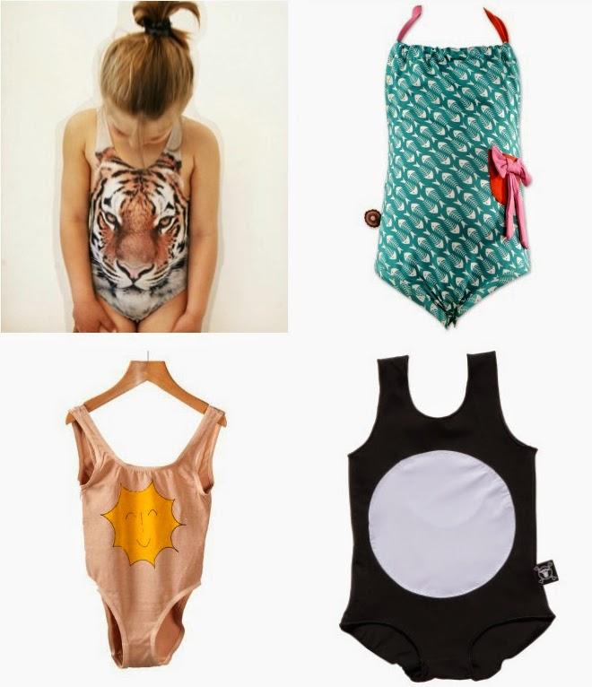 Coolest kids' swimwear 2014: Popupshop, 4funkyflavours, Bobo Choses, Nununu