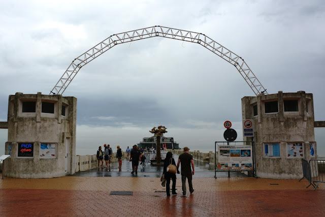 Blankenberge Pier Entrance