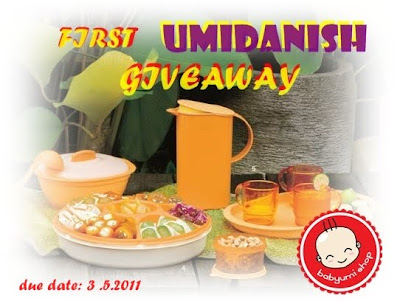 First Umidanish Giveaway..B4 3May