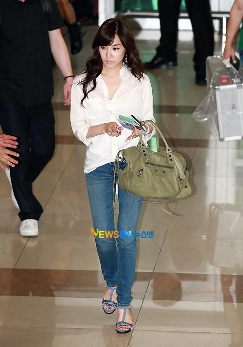 K Pop Snsd Airport Fashion