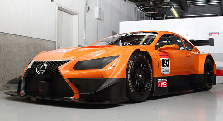 The New Lexus LF CC Has Been Released In Its New Japanese Super GT Look.  With The Japanese GT Series Adopting The DTM Regulations For The 2014  Season, ...