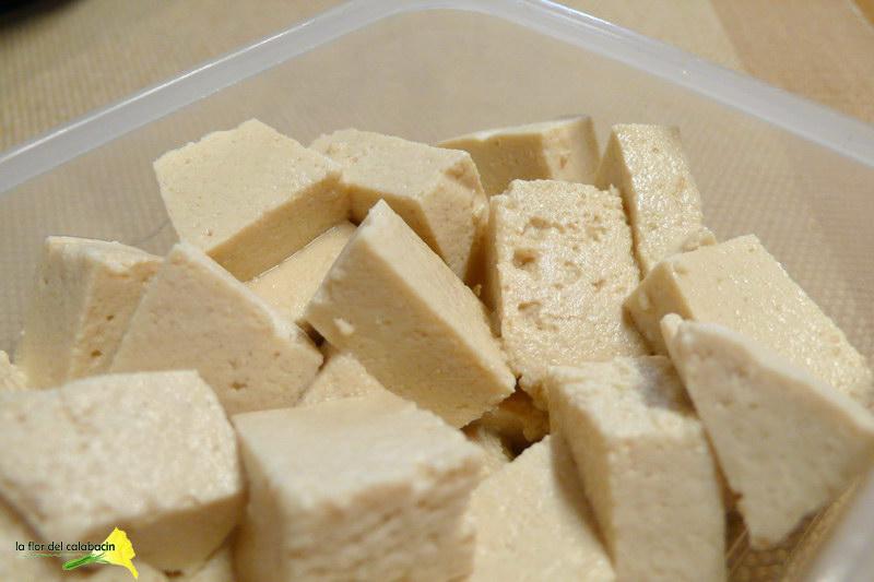 La flor del calabac n ventanas verdes c mo hacer tofu - Como se cocina el tofu ...
