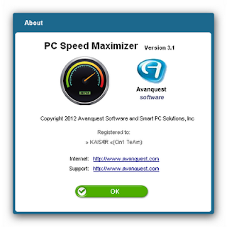 Avanquest PC Speed Maximizer 3.1.0.0 Full Patch