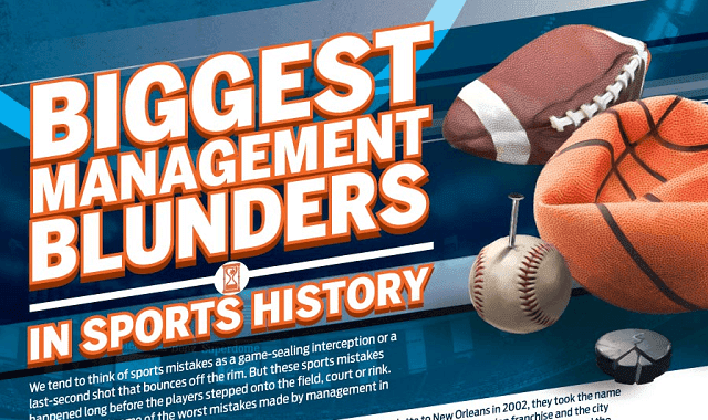 Biggest Management Blunders in Sports History