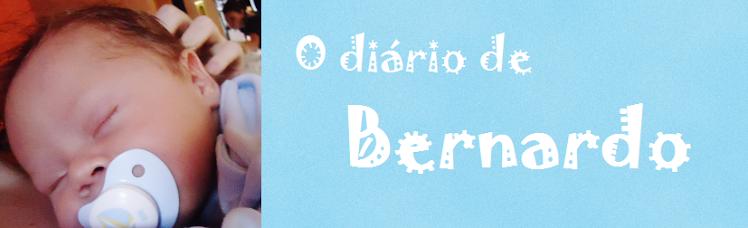 Diário do Bernardo, o bebê mais lindo do mundo :)