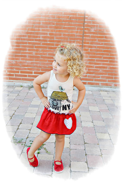 moda infantil vestido I love New York Misha Lulu dress blog mama de noa