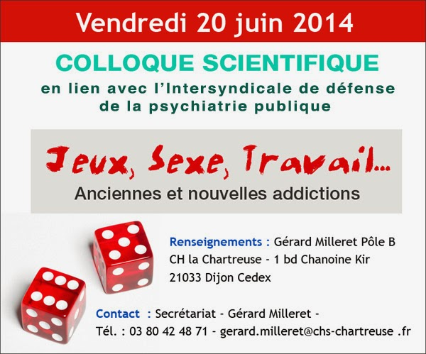 colloque scientifique du 06 Juin 2014