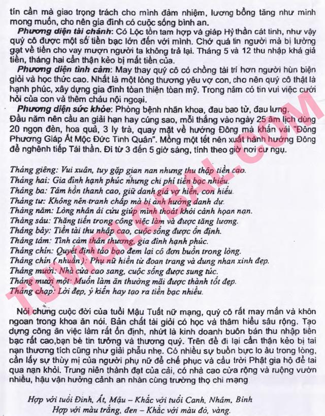TỬ VI TUỔI MẬU TUẤT 1958 NĂM 2014 GIÁP NGỌ - Blog Trần ...
