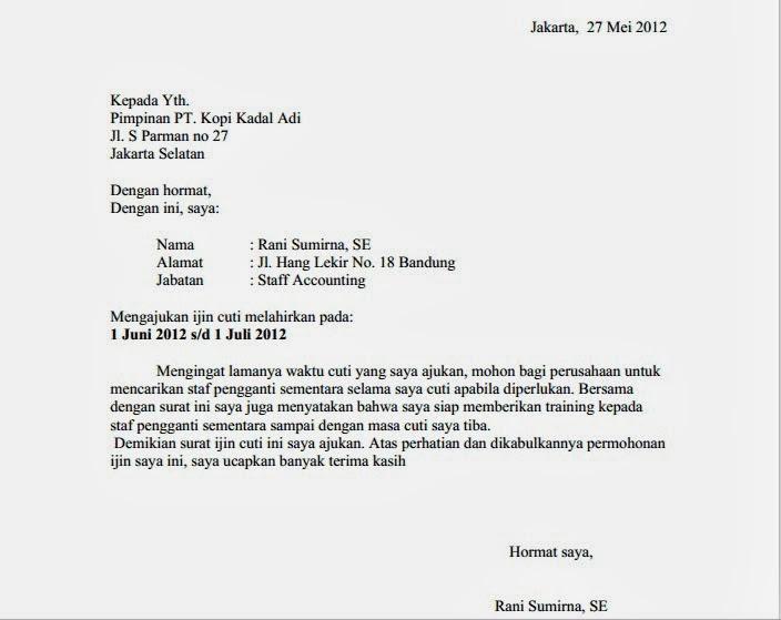 surat+izin+melahirkan
