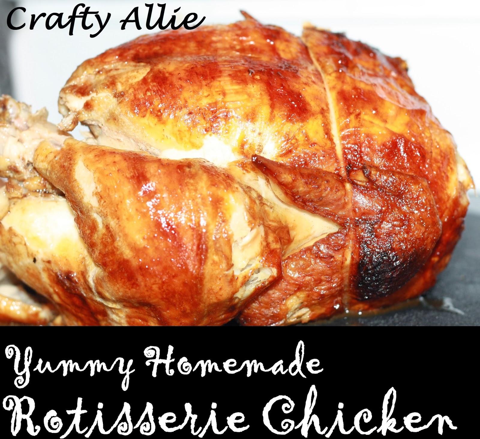 rotisserie chicken machine for home