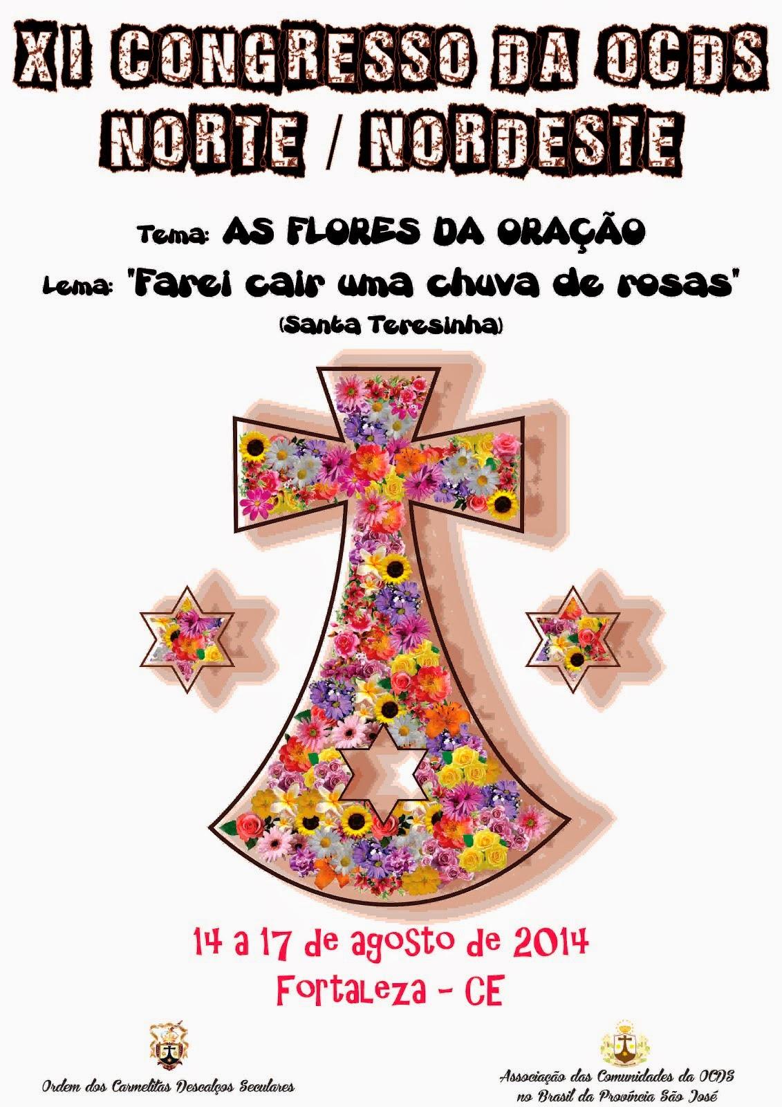 PALESTRAS DO XI CONGRESSO DA OCDS NORTE/NORDESTE