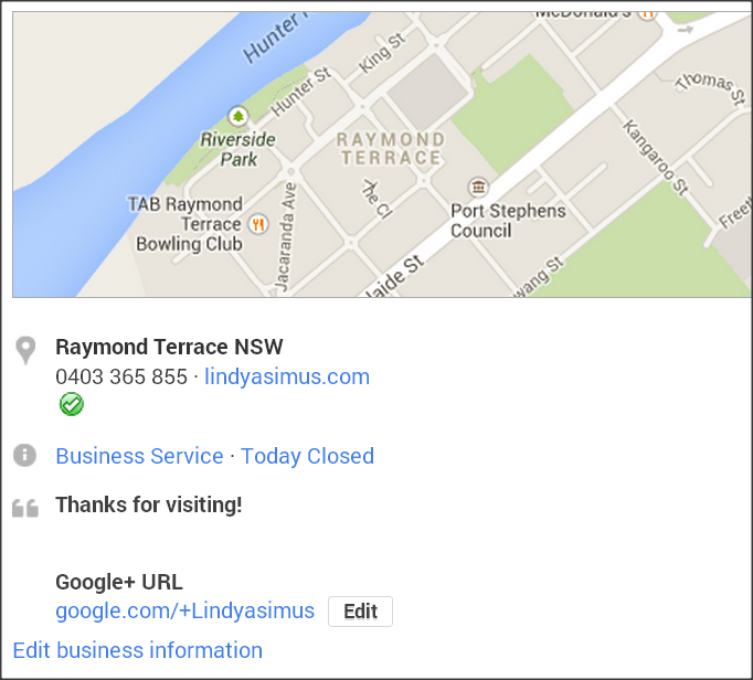 Lindy Asimus business coaching Newcastle NSW on Google