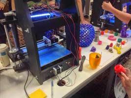 A 3D printer.
