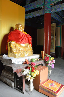 Buddha figure at Fahaisi in Beijing
