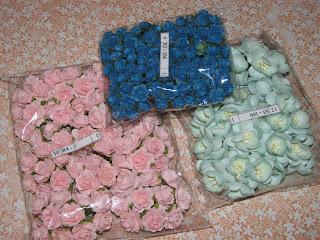 бумажные цветы для скрапбукинга